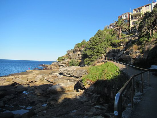 Bondi to Coogee Beach Coastal Walk: On the coastal walk to the south of Bondi