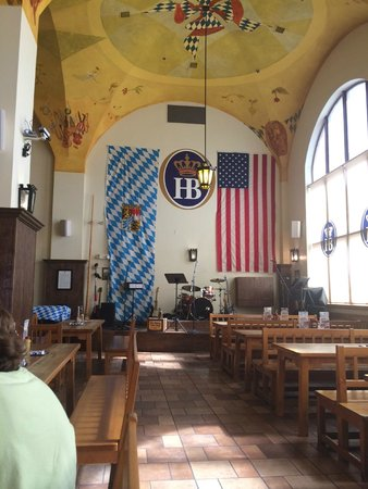 The main stage.  A bavarian and american mix
