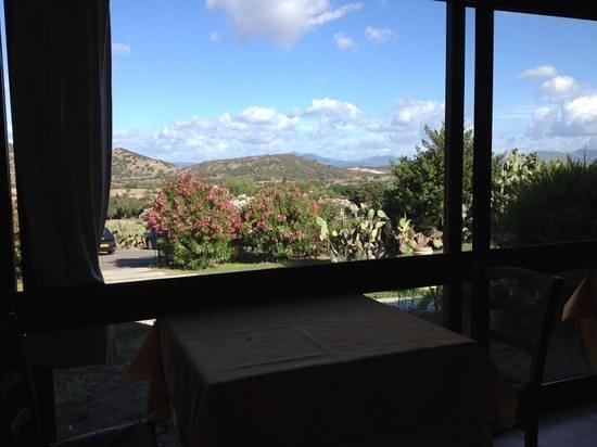Borgo di Campagna: uitzicht bij ontbijt