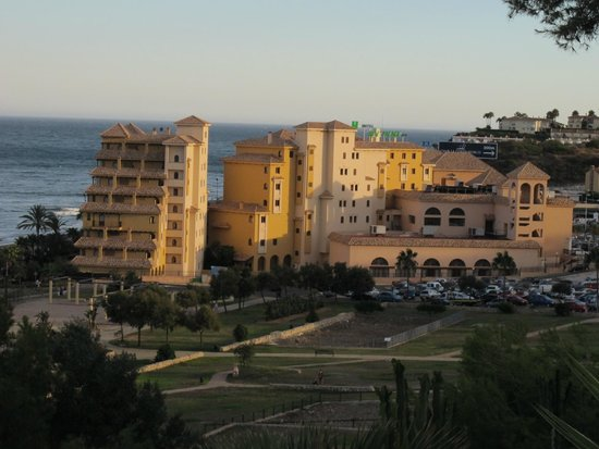 Hotel IPV Palace & Spa: The view from the castle...
