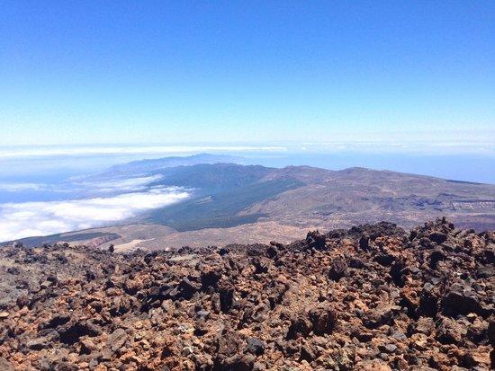 Volcan El Teide: Фото с вершины