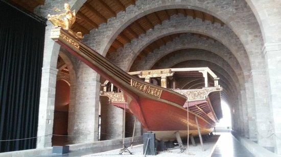 Museu Maritim : Galea reale di Don Giovanni d'Austria (riproduzione)
