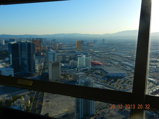 Stratosphere Hotel, Casino and Tower: Vista da torre do Hotel
