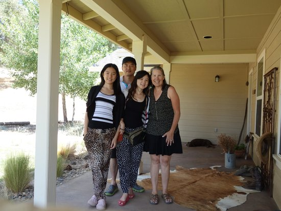 Red Tail Ranch: My family and Deborah