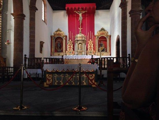La Iglesia de la Asunción de San Sebastián de La Gomera : Внутреннее убранство
