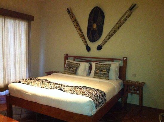 Mara River Safari Lodge: Master's Bedroom