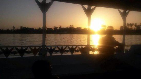 Sofitel Winter Palace Luxor: Sunset on the Nile