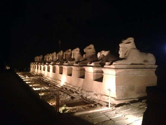 Sofitel Winter Palace Luxor: Karnack Temple - sound and light show