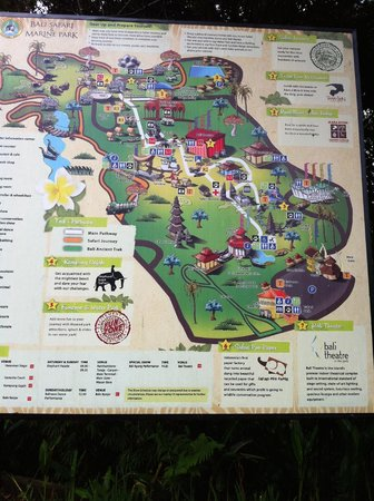 Mara River Safari Lodge: The map