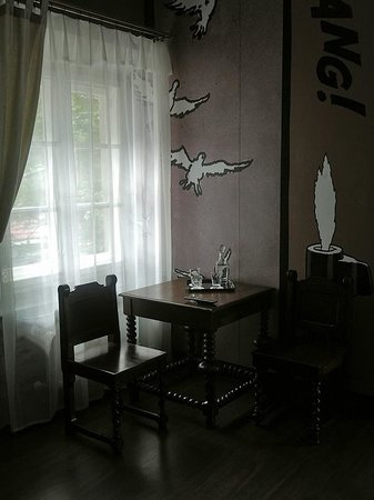 Castle Inn: cozy corner