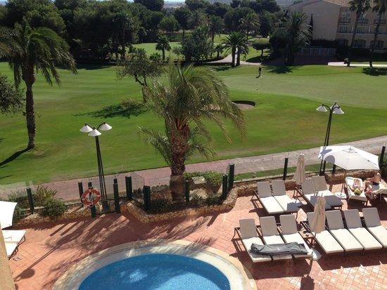 Hotel Principe Felipe 5*- La Manga Club: plunge pool...