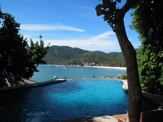 Santhiya Koh Phangan Resort & Spa : View from Seaview Villa