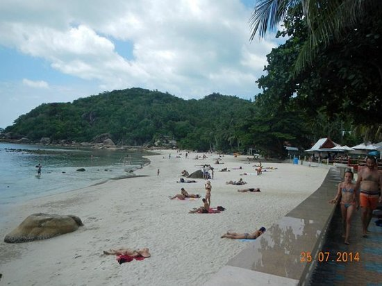 Crystal Bay Beach Resort: Crystal Bay beach