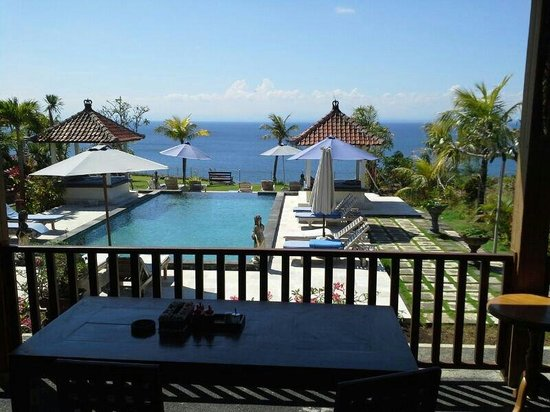 Uluwatu Cottages: View from resto