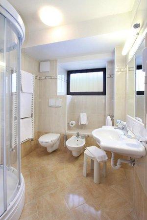 Hotel il Caminetto Canazei Dolomiti bathroom