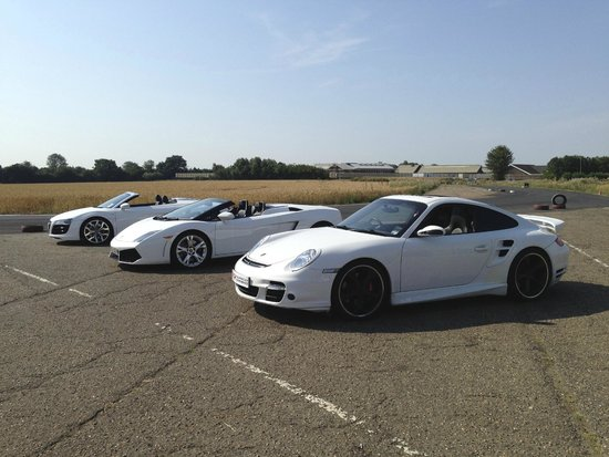 VIP Supercar Experience: Take your pick or go in them all!