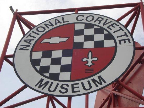 National Corvette Museum: Sign