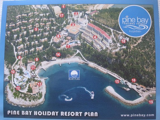 Pine Bay Holiday Resort : карта отеля
