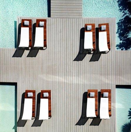 Kube Hotel-St Tropez : Garden side