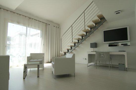 Kube Hotel-St Tropez : Duplex room