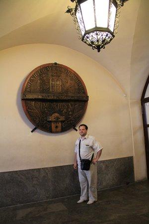 Hofbrauhaus Munchen: в холле