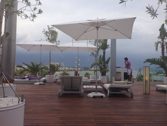 W Barcelona: Great views from sun terrace