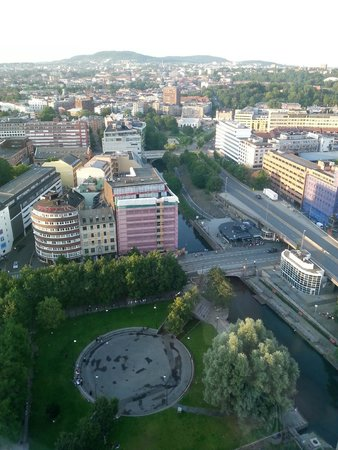 Radisson Blu Plaza Hotel, Oslo: View from 26.th floor