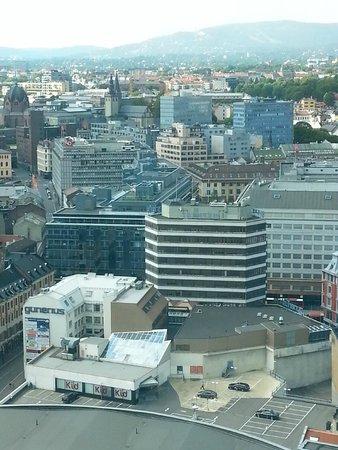 Radisson Blu Plaza Hotel, Oslo: View from 26.th floor
