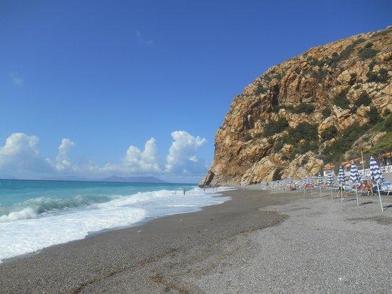 Club Valtur Capo Calava: spiaggia riservata