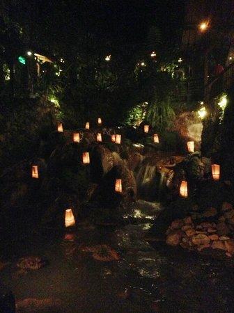 Kampung Daun: Beautiful waterfall
