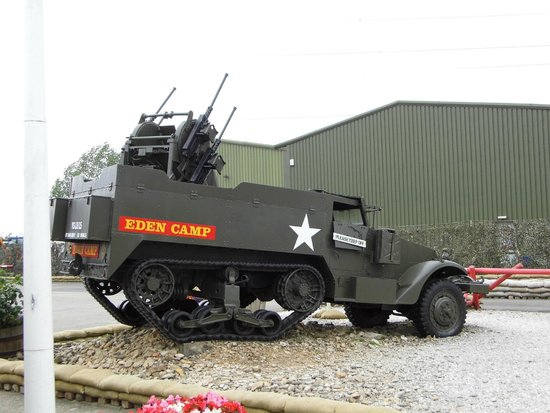 Eden Camp Modern History Theme Museum: British 11th Armoured Division Carrier