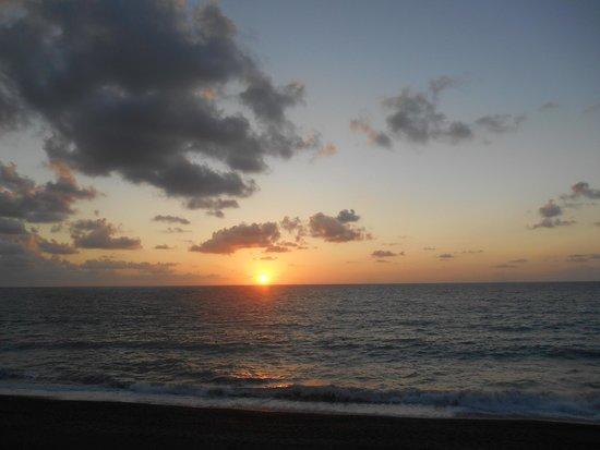 Club Valtur Capo Calava: tramonto