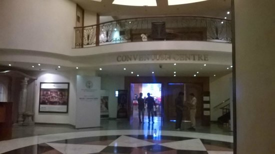 Hyderabad Marriott Hotel & Convention Centre: Entrance to the Convention Centre