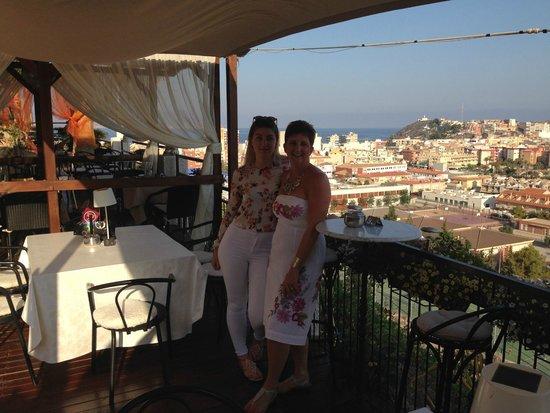 Hotel La Cumbre: Me and my daughter