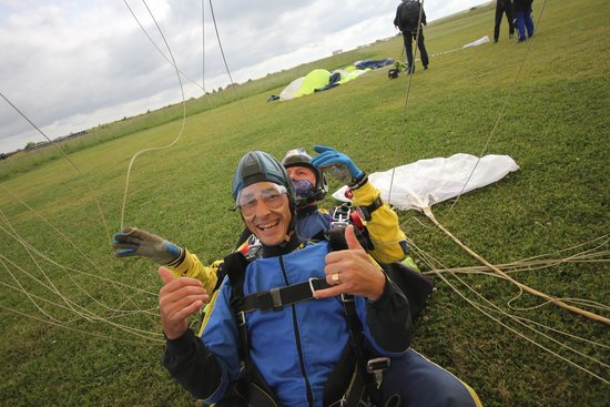 Skydive Buzz Ltd: landing