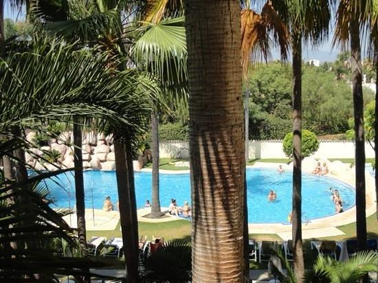 BlueBay Banus : piscina lago tropical, desde la habitación