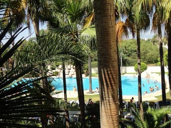BlueBay Banus : piscina lago tropical desde la habitación 725