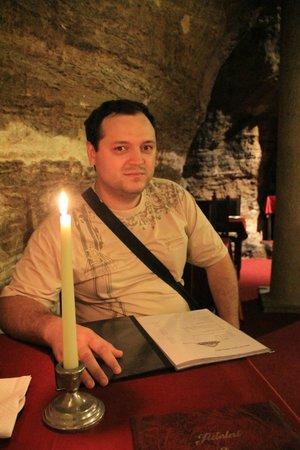 Restaurant Peklo: за столиком