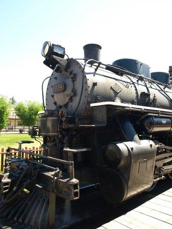 Heritage Park Historical Village : The Steam Train