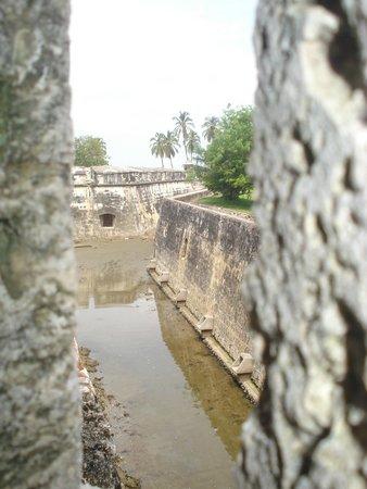 Castillo San Fernando de Bocachica: pasadizo