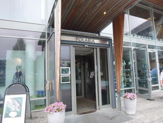 Polaria : 入口は割とこじんまり