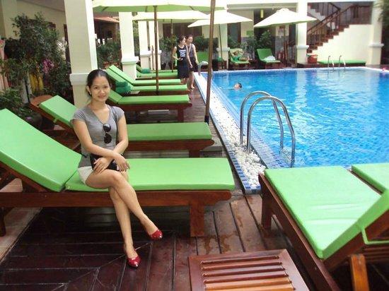 Green Heaven Resort & Spa: Pool