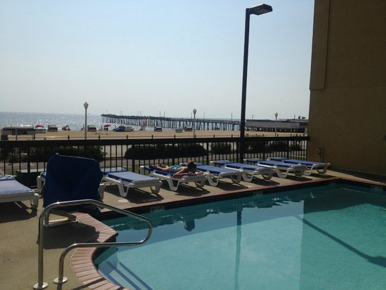 The Breakers Resort Inn: The pool is right next to the beach so you get sun, water without the hassle of sand.