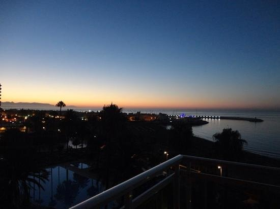 Hotel Best Tritón: amanecer