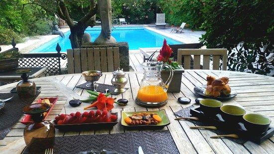 La Magnanerie de Grans : Breakfast fit for Royalty!