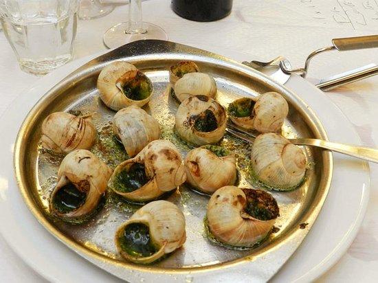 Le Bouillon Chartier : Escargot