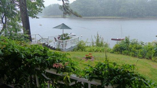 Bufflehead Cove Inn: View from the porch