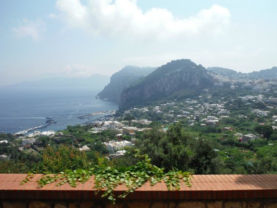 Alle Ginestre Capri Bed & Breakfast: Lookout from the Patio