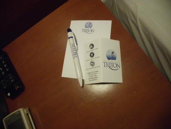 Hotel Triton : Stationary