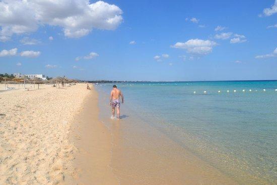 Hammamet Beach : Spiaggia libera